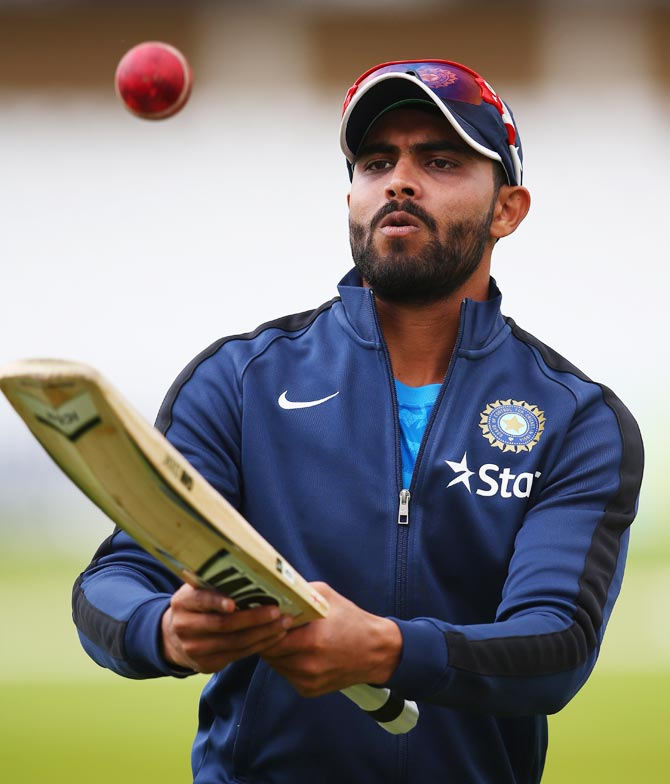 Jadeja doubtful for first Test, Dhawan ruled fit
