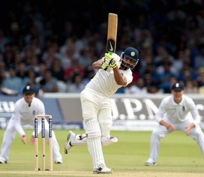England battling to save Lord's Test as India strike
