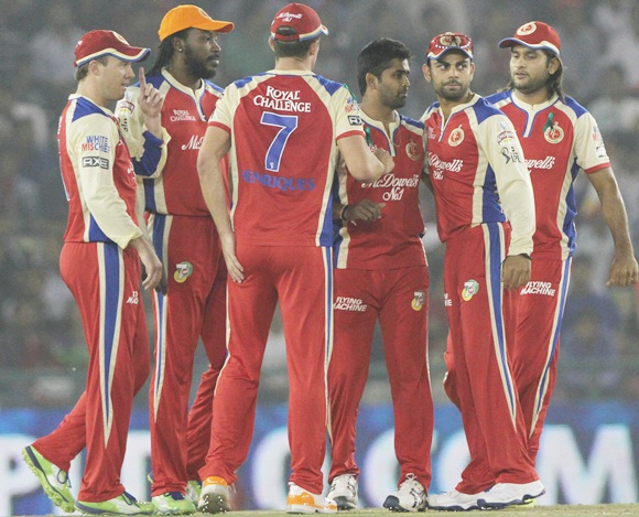 RCB players