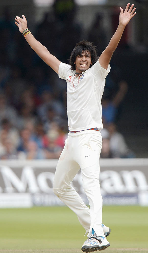 Injured Ishant ruled out of third Test
