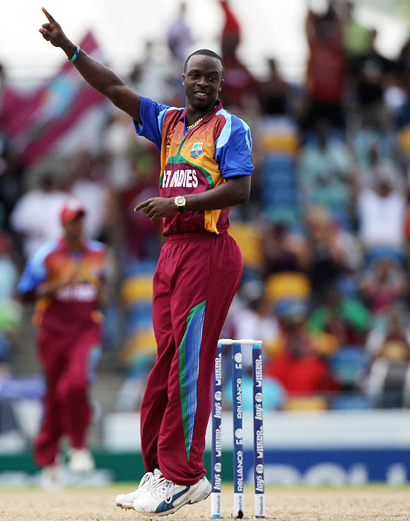 Jerome Taylor of The West Indies