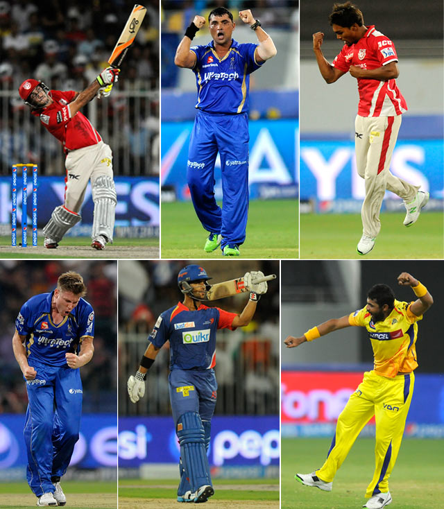 IPL-7: The BEST performances from the UAE leg