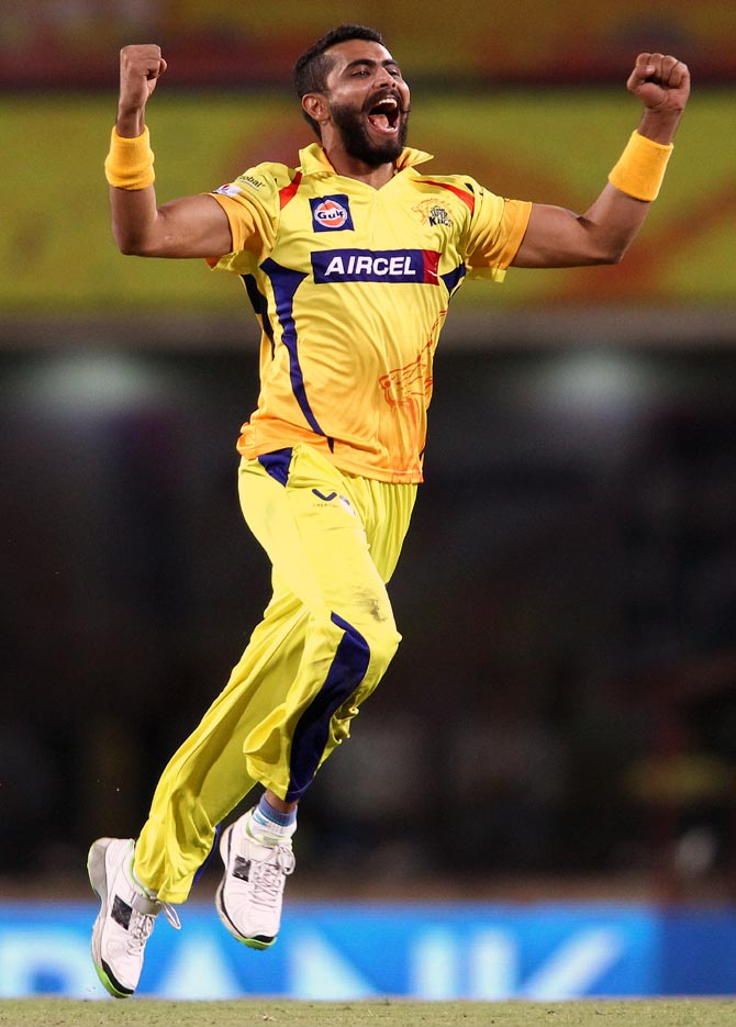 IPL PHOTOS: Jadeja spins Chennai to easy victory over Kolkata