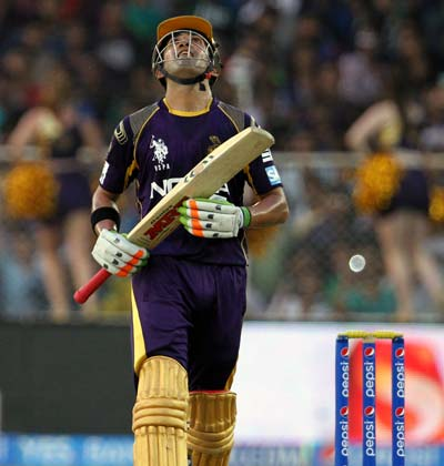 Angry Gambhir slams KKR team after loss to Rajasthan