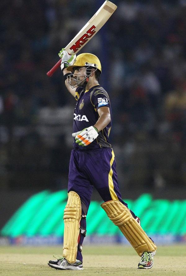 IPL PHOTOS: KKR's Gambhir, Chawla hand KXIP rare defeat