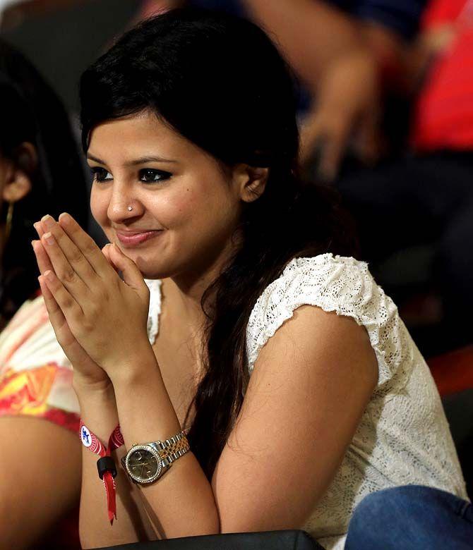 Mahendra Singh Dhoni's wife Sakshi Dhoni