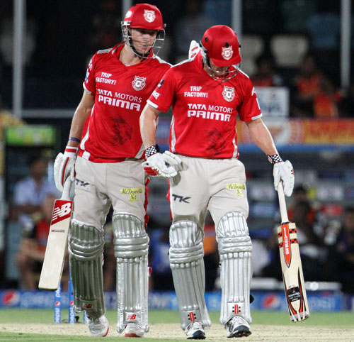 PHOTOS: Punjab regain top spot, Hyderabad slump to sixth loss