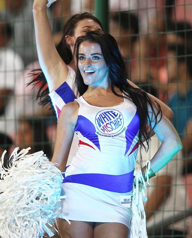 Ipl Photos Hot Preity Zinta, Sexy Cheerleaders Sizzle -1992