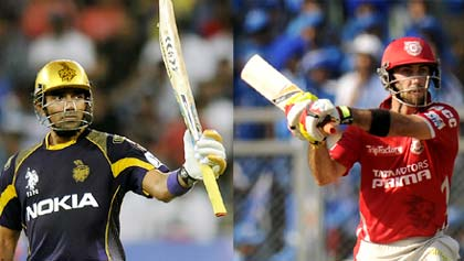 Who will be MVP of IPL 7? Maxwell or Uthappa?