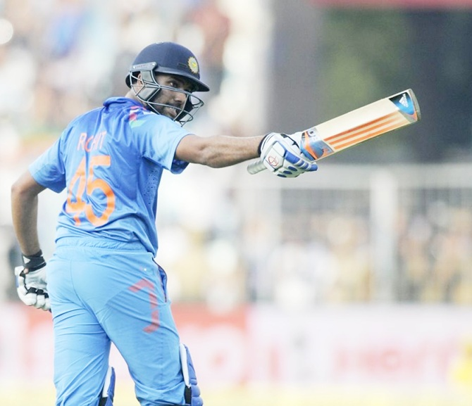 Rewind: Nov 13, 2014, Rohit's highest score in ODIs