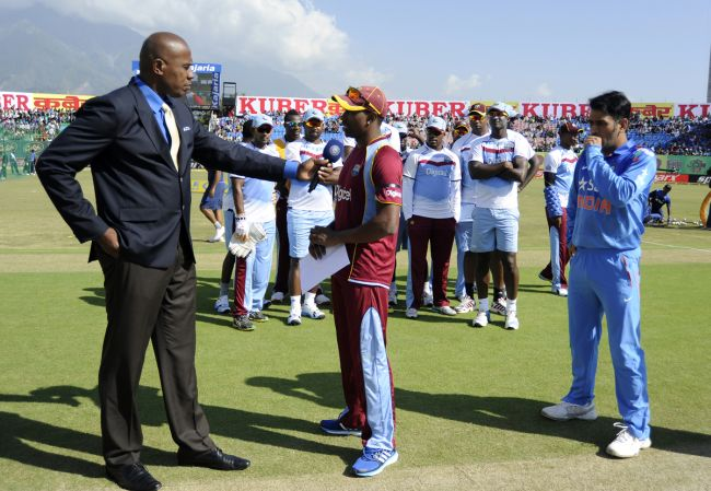 Dwayne Bravo walked out with the whole team at the toss of the fourth ODI during that controversial series