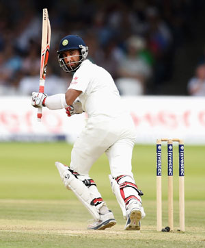 Pujara fails on County debut, dismissed for seven