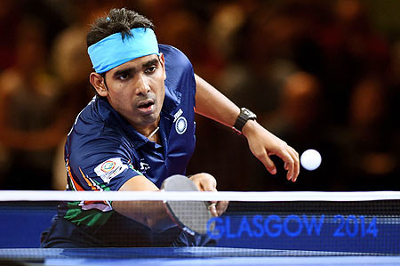 India's TT player Achanta Sharath Kamal