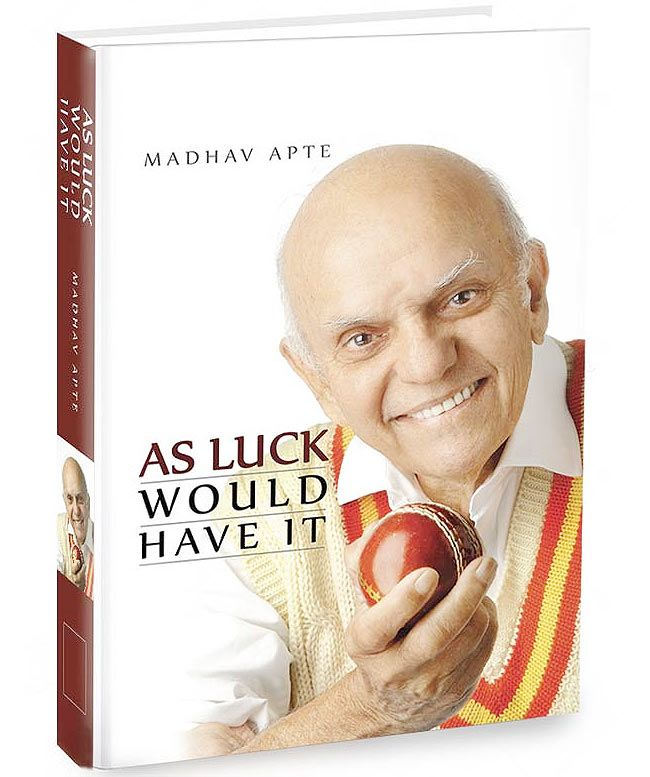 A cover of Madhav Apte's autobiography