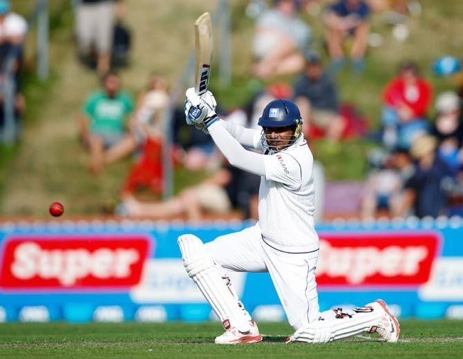 Kumar Sangakkara is the highest run-getter for Sri Lanka in Test cricket