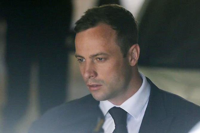 South African Olympic and Paralympic sprinter Oscar Pistorius