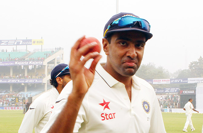 Man of the Series Ravichandran Ashwin
