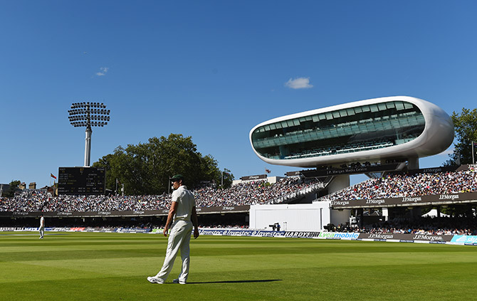 A packed house at Lord's Cricket Ground during day four of the 2nd Ashes Test