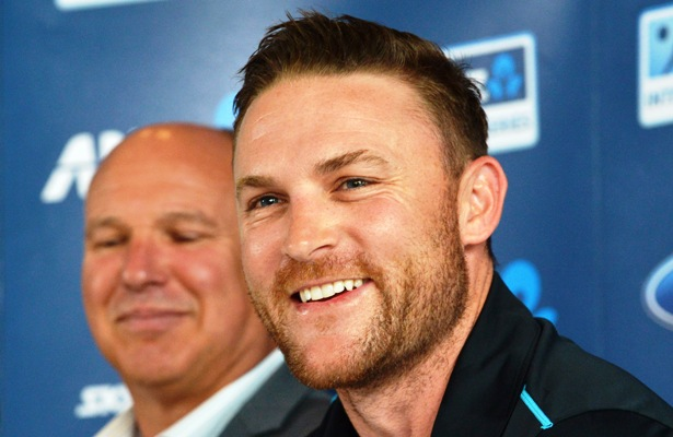 New Zealand Black Caps captain Brendon McCullum