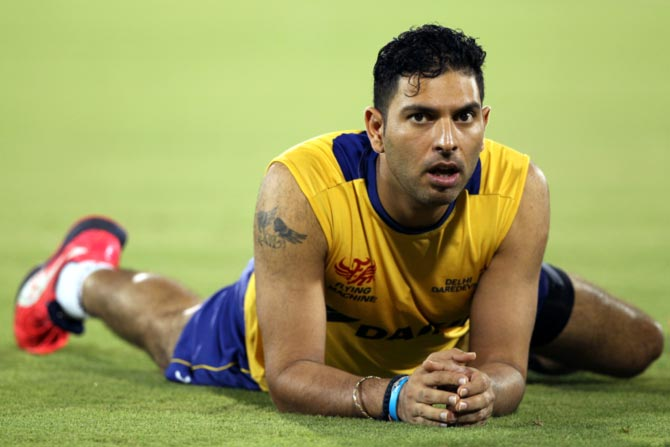 Yuvraj credits dad for improving fielding skills