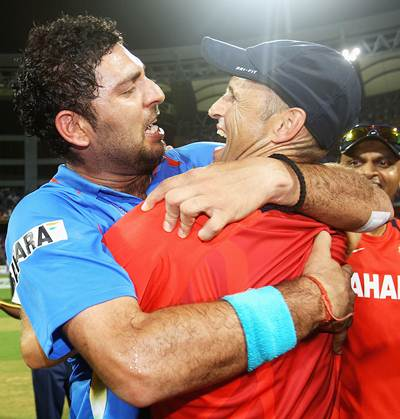 Yograj says Dhoni did not want Yuvraj in WC squad; son differs