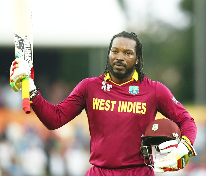 Gayle boasts how his opponents are still scared of him