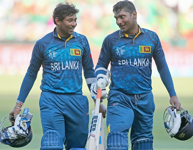 Dilshan takes subtle dig at Sanga, Jayawardena & Mathews - Rediff Cricket