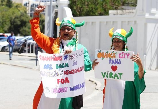 Indian fans enjoy