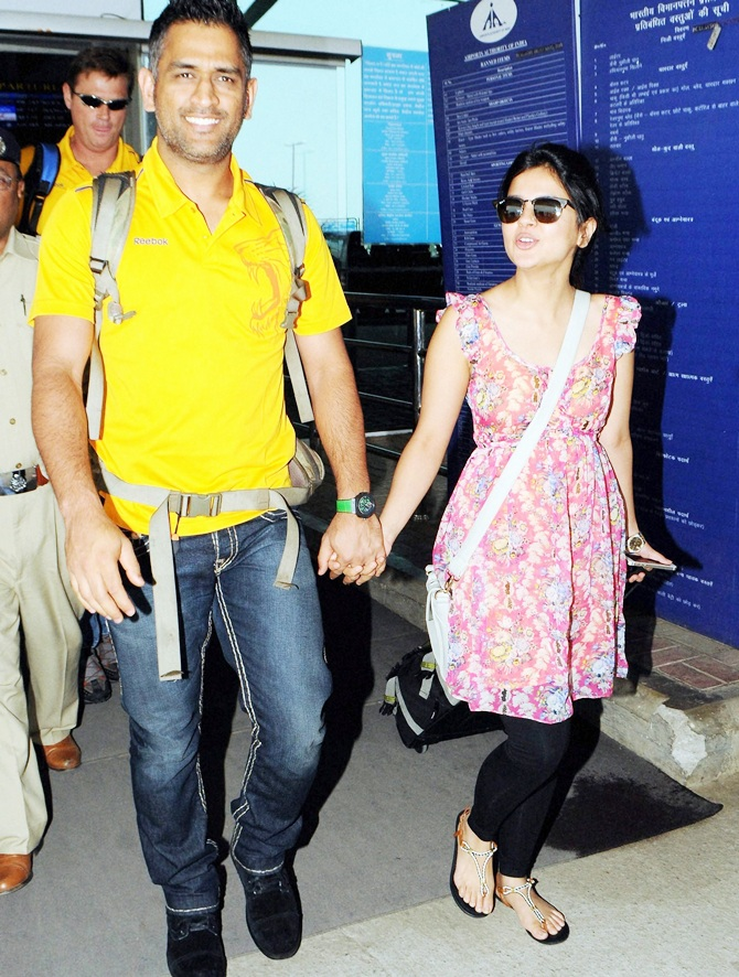 Dhoni's recipe for a happy married life