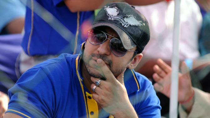 Rajasthan Royals co-owner Raj Kundra.