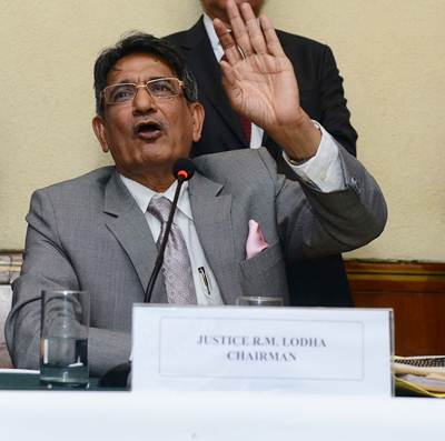 Things will move fast at BCCI under SC-appointed adminstrators: Lodha