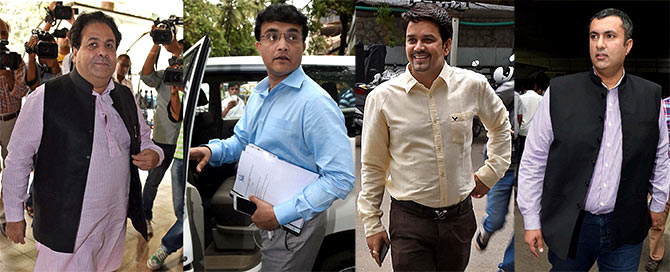 Ganguly in four-member BCCI panel to study Lodha verdict