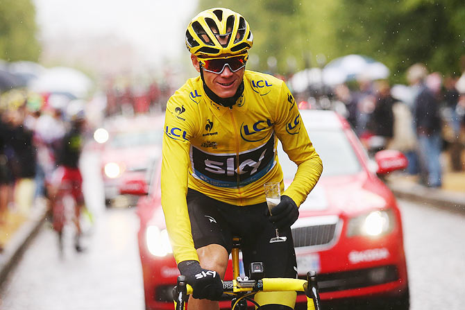 English cyclist Chris Froome