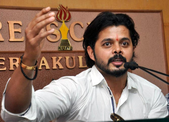 Spot fixing: Sreesanth's punishment to be reconsidered