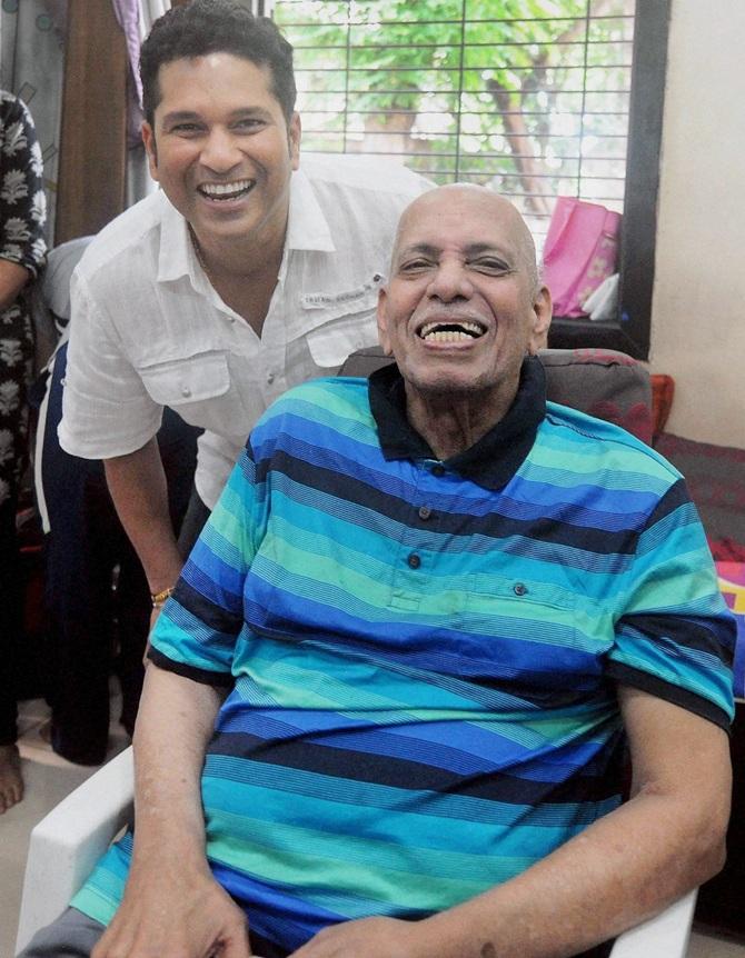 Well played sir: Tendulkar pays tribute to Achrekar