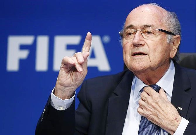 The 84-year-old Sepp Blatter, who led FIFA until 2015, was accused of selling TV rights to the CFU for the 2010 and 2014 World Cups for $600,000, seen as far below the market value at the time