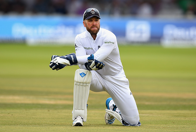 Former England wicketkeeper Matt Prior