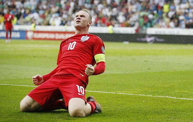 Apart from wearing the captain's armband, Wayne Rooney will also be wearing the No 10 shirt
