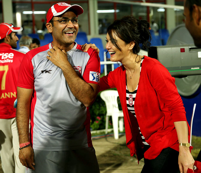 Sehwag reveals Bangar's role in Punjab's good run in IPL 7