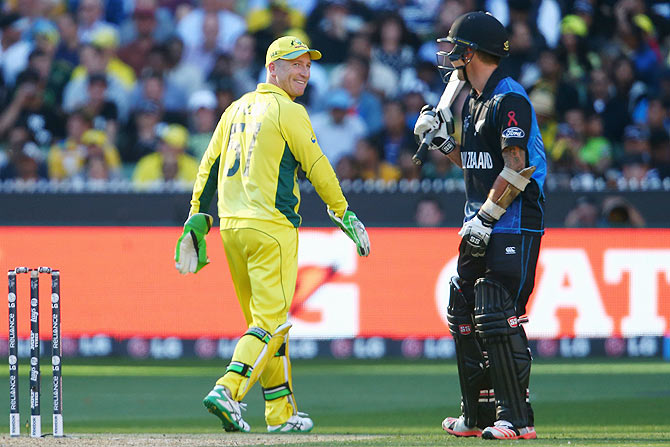 Haddin slammed for sledging Kiwi batsmen in final