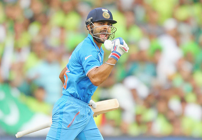 Dravid bats for an out-of-form Kohli