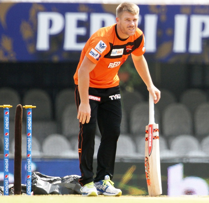 Defending champions Sunrisers Hyderabad's captain David Warner was one of the leading run-getters last season