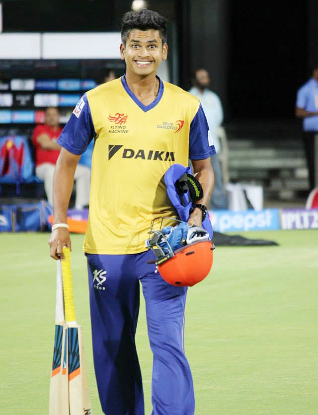 Shreyas Iyer at DD training session