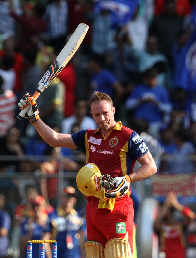 AB de Villiers and KL Rahul were teammates at Royal Challengers Bangalore