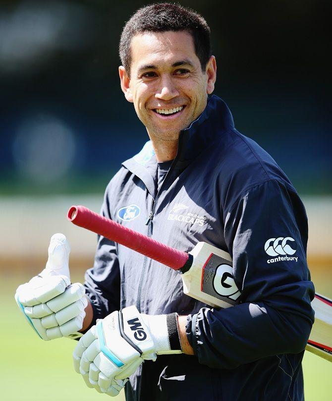 New Zealand's senior batsman Ross Taylor