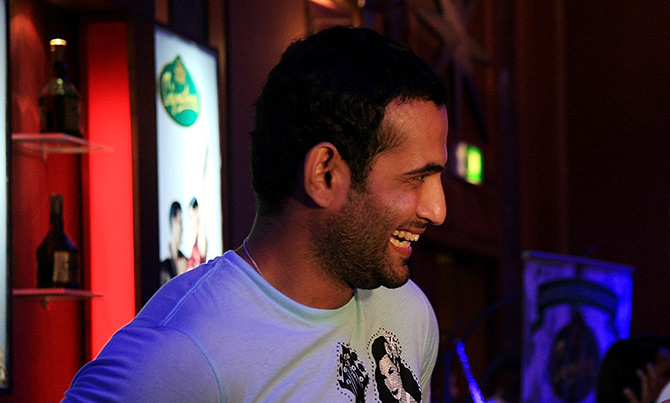 Irfan Pathan at the IPL Nights after party