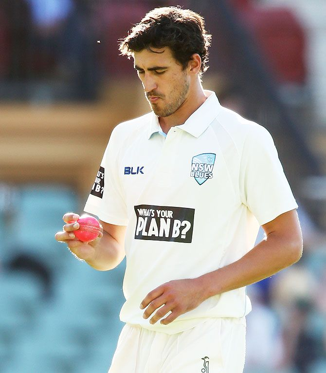 Mitchell Starc has taken 42 wickets at an average of 19.23 with the pink ball against an average of 26.97 in all Tests.