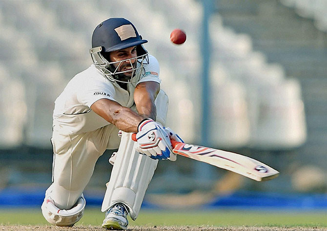 Ranji Trophy: Tiwary's triple ton puts Bengal on top