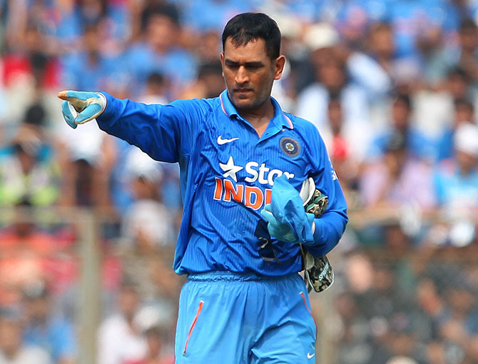 'You cannot calculate Dhoni's value'