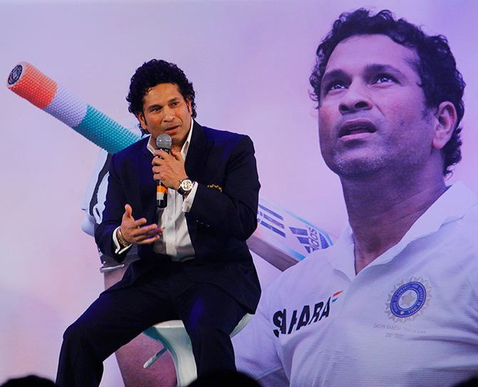Tendulkar makes a plea to PM Modi